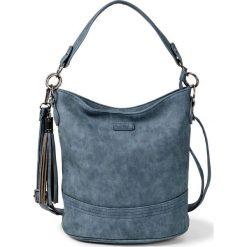 Torebka na ramię bonprix niebieski. Niebieskie torebki klasyczne damskie bonprix. Za 89,99 zł.