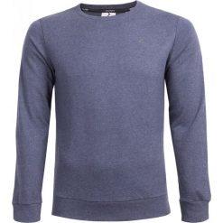 Bluza męska BLM600 - granatowy melanż - Outhorn. Czarne bluzy męskie rozpinane marki Outhorn, na lato, z bawełny. W wyprzedaży za 44,99 zł.