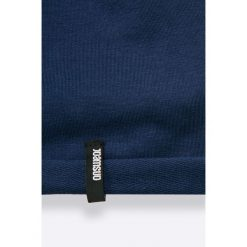 Answear - Czapka SPORTY FUSION. Niebieskie czapki zimowe damskie marki ANSWEAR, z bawełny. W wyprzedaży za 9,90 zł.
