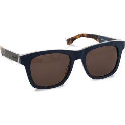Okulary przeciwsłoneczne BOSS - 0337/S Mtblue Hvnbl U1F. Niebieskie okulary przeciwsłoneczne damskie lenonki marki Boss. W wyprzedaży za 419,00 zł.