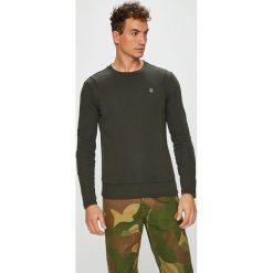 G-Star Raw - Bluza. Czarne bluzy męskie rozpinane marki G-Star RAW, l, z materiału, retro. Za 399,90 zł.