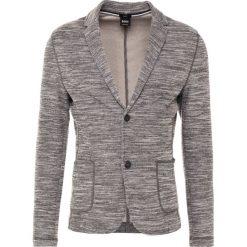 BOSS CASUAL WALENTINO Marynarka grey melange. Szare kardigany męskie marki BOSS Casual, z bawełny. W wyprzedaży za 671,30 zł.