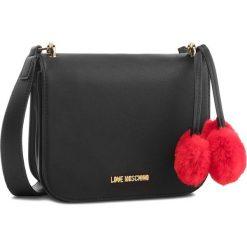 Torebka LOVE MOSCHINO - JC4324PP06KW0000  Nero. Czarne torebki klasyczne damskie Love Moschino, ze skóry ekologicznej. Za 639,00 zł.