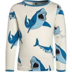 Bluzki dziewczęce bawełniane: Småfolk WITH SHARK Bluzka z długim rękawem cream