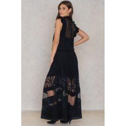 Długie sukienki: RAVN Sukienka Idol - Black