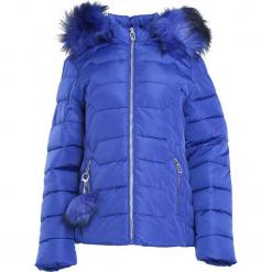 Ciemnoniebieska Kurtka Spinning Around. Brązowe kurtki damskie pikowane Born2be, na zimę, xl, z kapturem. Za 144,99 zł.