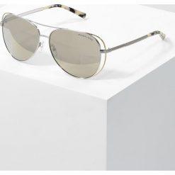 Michael Kors Okulary przeciwsłoneczne silver. Szare okulary przeciwsłoneczne damskie lenonki marki Michael Kors. Za 669,00 zł.