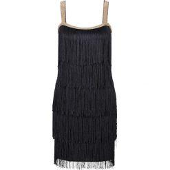 Sukienki hiszpanki: Sukienka z frędzlami bonprix czarny