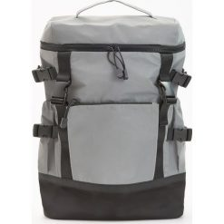 Torby i plecaki męskie: Plecak odblaskowy – Szary
