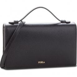 Torebka FURLA - Incanto 978230 E ET24 ARE Onyx. Czarne torebki klasyczne damskie Furla, ze skóry, zdobione. Za 895,00 zł.
