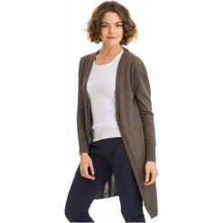 Galvanni Sweter Damski Kalgoorlie L Brązowy. Brązowe swetry klasyczne damskie GALVANNI, l, z wełny. W wyprzedaży za 309,00 zł.