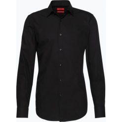 HUGO - Koszula męska łatwa w prasowaniu – C-Jenno, czarny. Niebieskie koszule męskie non-iron marki HUGO, m, z bawełny. Za 329,95 zł.