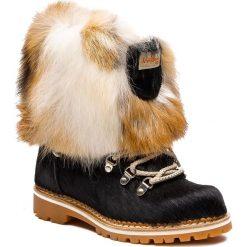 Śniegowce MONTELLIANA - Seicento M17493 Black. Czarne buty zimowe damskie Montelliana, z polaru. Za 2200,00 zł.