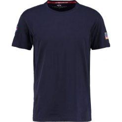T-shirty męskie z nadrukiem: Alpha Industries NASA Tshirt z nadrukiem replica blue