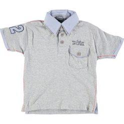 T-shirty chłopięce z krótkim rękawem: Koszulka polo w kolorze szarym