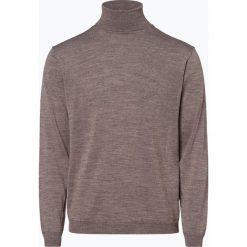 Finshley & Harding - Sweter męski, szary. Szare swetry klasyczne męskie marki Finshley & Harding, m, z wełny, z golfem. Za 129,95 zł.