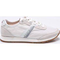 Napapijri - Buty Rabina. Szare buty sportowe damskie Napapijri, z gumy. W wyprzedaży za 239,90 zł.