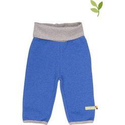 Spodnie niemowlęce: Spodnie w kolorze niebieskim