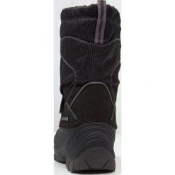 Kamik SNOWCOAST Śniegowce black. Czarne buty zimowe damskie marki Kamik, z materiału. W wyprzedaży za 186,45 zł.