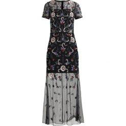 Długie sukienki: Miss Selfridge EMBELLISHED WINTER FLORAL MAXI Sukienka koktajlowa black