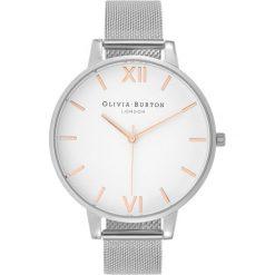 Olivia Burton DIAL BIG DIAL Zegarek silvercoloured. Szare, analogowe zegarki damskie Olivia Burton. Za 579,00 zł.