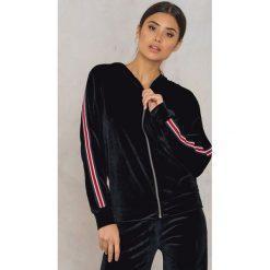 Bluzy damskie: Sisters Point Bluza Gro – Black