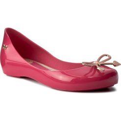Baleriny ZAXY - Romantic Kids 82264 Róż 01672 Y385010. Czerwone baleriny damskie Zaxy, z tworzywa sztucznego. W wyprzedaży za 89,00 zł.