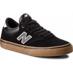 Tenisówki NEW BALANCE - NM255BKG Czarny. Czarne tenisówki męskie New Balance, z gumy. W wyprzedaży za 319,00 zł.