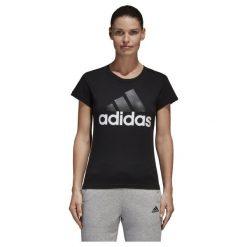 KOSZULKA ADIDAS SLIM B45786. Szare bluzki damskie marki Adidas. Za 65,00 zł.