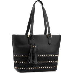 Torebka MONNARI - BAG3290-020 Black. Czarne torebki klasyczne damskie Monnari, z materiału. W wyprzedaży za 199,00 zł.
