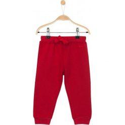 Spodnie niemowlęce: Grube spodnie dresowe ze ściagaczami dla niemowlaka