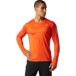 Adidas Koszulka męska Response Long Sleeve Tee pomarańczowa r. S (BP7485). Białe t-shirty męskie marki Adidas, m. Za 119,00 zł.