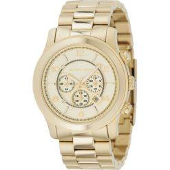 ZEGAREK MICHAEL KORS RUNWAY MK8077. Żółte zegarki damskie marki Michael Kors, ze stali. Za 1369,00 zł.