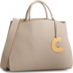 Torebka COCCINELLE - CB5 Concrete E1 CB5 18 02 01  Seashell N43. Brązowe torebki klasyczne damskie Coccinelle, ze skóry, duże. W wyprzedaży za 1479,00 zł.