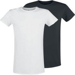 T-shirty męskie: RED by EMP Heart And Soul T-Shirt czarny/biały