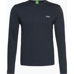 T-shirty męskie: BOSS Athleisure – Męska koszulka z długim rękawem – Togn, niebieski