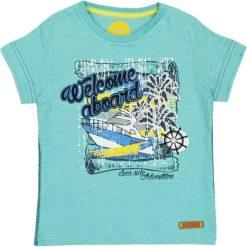 Nativo - T-shirt dziecięcy 104-164 cm. Szare t-shirty męskie z nadrukiem marki Nativo, z bawełny. W wyprzedaży za 29,90 zł.