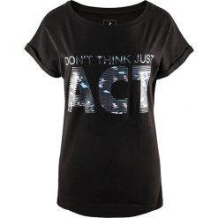 Outhorn Koszulka damska HOZ17-TSD607  czarna r. L (HOZ17-TSD607). Czarne t-shirty damskie Outhorn, l. Za 34,79 zł.