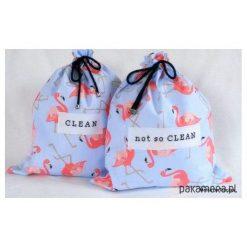 Torby podróżne: Pink Flamingos – underwear travel bags