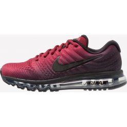 Nike Performance AIR MAX 2017 Obuwie do biegania treningowe black/team red. Czerwone buty do biegania męskie Nike Performance, z materiału. Za 799,00 zł.