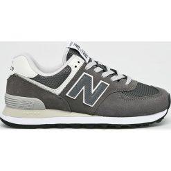 New Balance - Buty WL574CRD. Szare buty sportowe damskie New Balance, z materiału. W wyprzedaży za 299,90 zł.