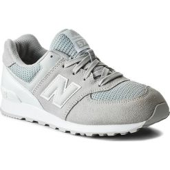 Buty sportowe dziewczęce: Sneakersy NEW BALANCE – KL574C9G Szary