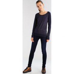 Bluzki asymetryczne: Ragwear DELICIOUS Bluzka z długim rękawem navy melange