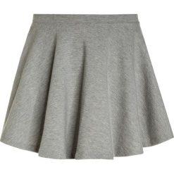 Polo Ralph Lauren CIRCULARBOTTOMS Spódnica mini andover heather. Szare minispódniczki marki Polo Ralph Lauren, z bawełny. W wyprzedaży za 160,30 zł.