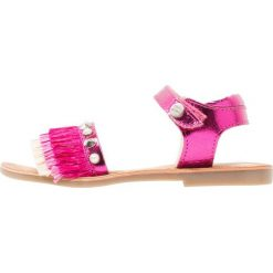 Gioseppo Sandały fuxia. Czerwone sandały chłopięce Gioseppo, z materiału. Za 209,00 zł.