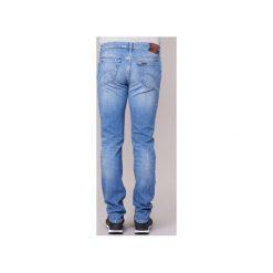 Jeansy slim fit Lee  RIDER. Niebieskie jeansy męskie relaxed fit Lee. Za 351,20 zł.
