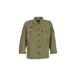 Żakiety / Blezery Pepe jeans  UTILITY. Zielone marynarki i żakiety damskie Pepe Jeans, l, z jeansu. Za 398,30 zł.