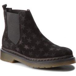 Sztyblety TAMARIS - 1-25433-30 Black Star 084. Czarne buty zimowe damskie marki Tamaris, z materiału, retro, na obcasie. W wyprzedaży za 219,00 zł.