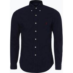 Polo Ralph Lauren - Koszula męska – Slim Fit, niebieski. Niebieskie koszule męskie na spinki Polo Ralph Lauren, l, polo. Za 499,95 zł.