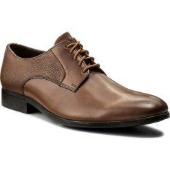 Półbuty CLARKS - Gilmore Lace 261339017 Tan Leather. Brązowe półbuty skórzane męskie marki Clarks. W wyprzedaży za 229,00 zł.